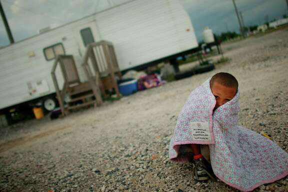The Know Poverty Summit explores ways to solve the problem in America. This boy's Louisiana family was still living in a FEMA trailer long after Hurricane Katrina.