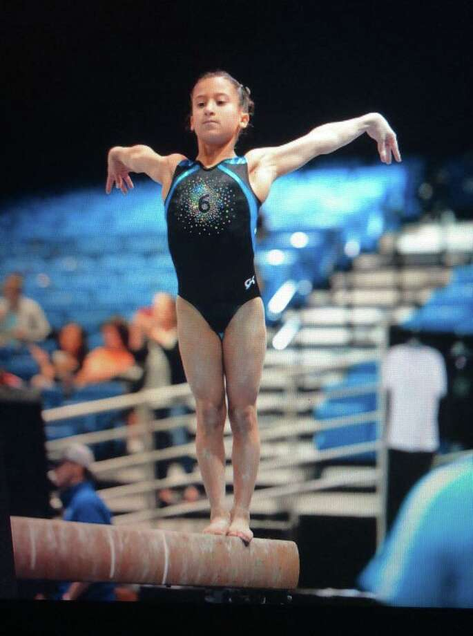 Silverstein has been working toward her dream of becoming an Olympic-level gymnast since she was a young. Photo: Contributed Photo / Westport News contributed