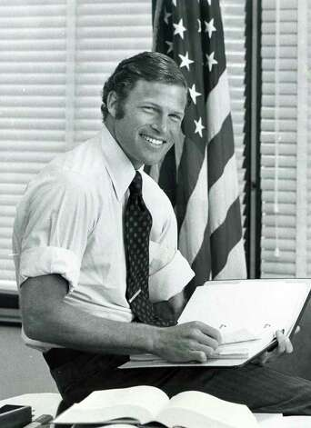 Richard Blumenthal, then U.S. District Attorney, poses on July 8th, 1978, location unknown. Photo: File Photo / Connecticut Post File Photo