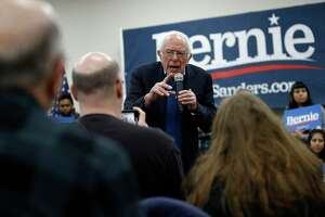Pressed for details by NPR's Rachel Martin about what he would do differently in relation to Iran than President Donald Trump, Democratic presidential candidate Sen. Bernie Sanders ducked, hedged and evaded most of the questions.