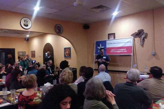 Pritesh Gandhi, candidate for congressman of Texas's 10th congressional district, discussed his platform based on reducing gun violence, protecting women's rights and immigration reform.
