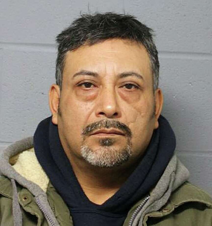 Edgar Encalada, 48, of Branford, was arrested Friday, Jan. 10, 2020, and was charged with patronizing a prostitute and second-degree breach of peace. Photo: Contributed Photo / North Haven Police Department