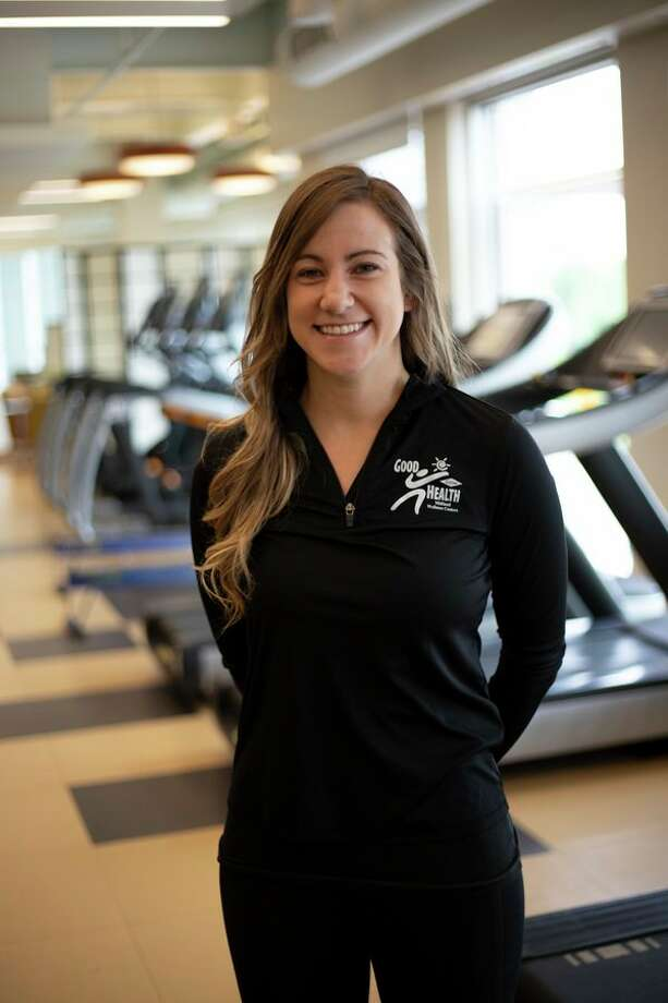 Rachel Webber, program coordinator at Greater Midland (Corporate Wellness), is an ACSM certified personal trainer and group exercise instructor. (Photo provided)