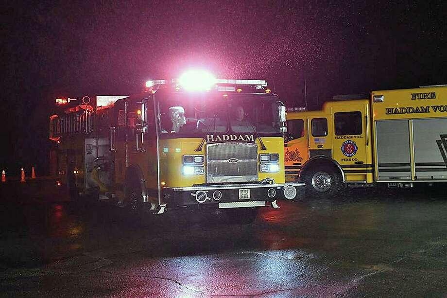 File photo of a Haddam fire company engine. Photo: Contributed Photo / Haddam Volunteer Fire Company