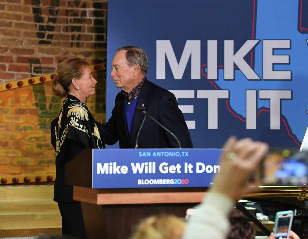Shielded and inflated by his TV ads, presidential hopeful Mike Bloomberg is relying more on personal wealth than personal appearances, such as his stop last month at Market Square.