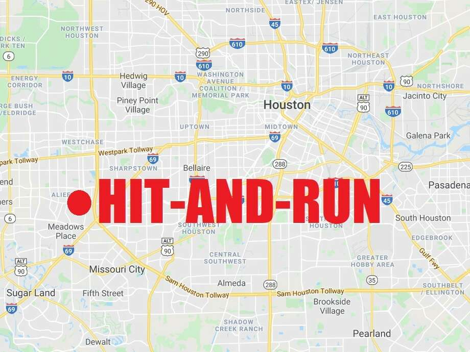 Houston police are searching for the driver of black Ford Mustang who allegedly hit a pedestrian in the city's southwest side and then fled the scene.  Photo: Houston Chronicle