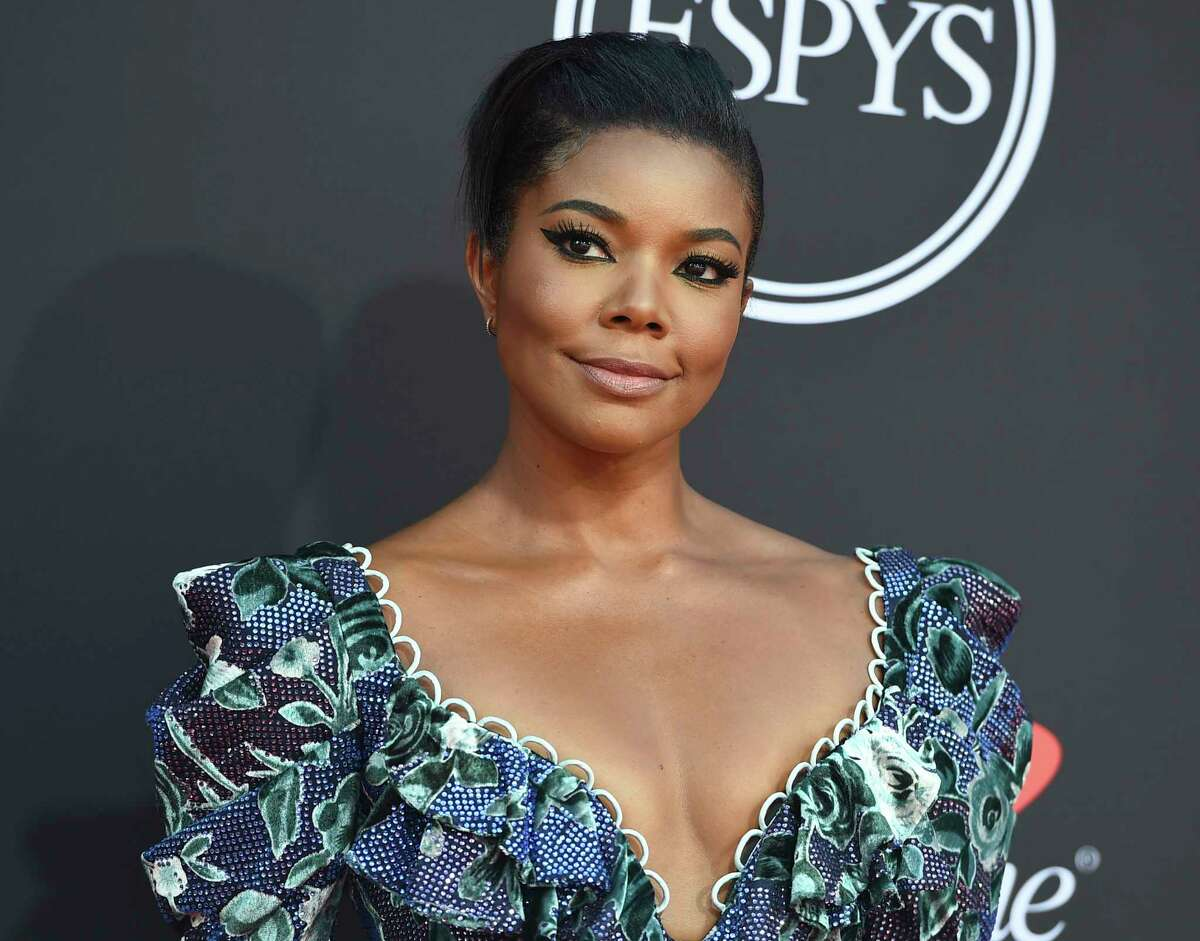 FILE - In this July 10, 2019, file photo, Gabrielle Union arrives at the ESPY Awards at the Microsoft Theater in Los Angeles. An investigation of Union's complaints of racism and other troubling behavior on the set of