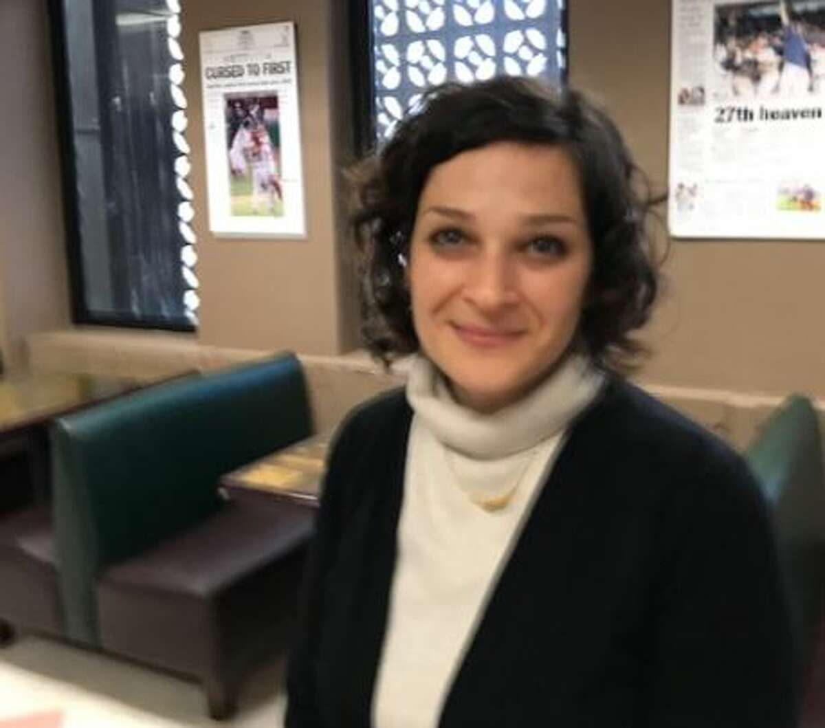Tamar Gil is helping to revitalize the Negev and Galilee areas of Israel. She was recently in the Capital Region and came to Colonie N.Y. on Thursday Jan. 9, 2020.