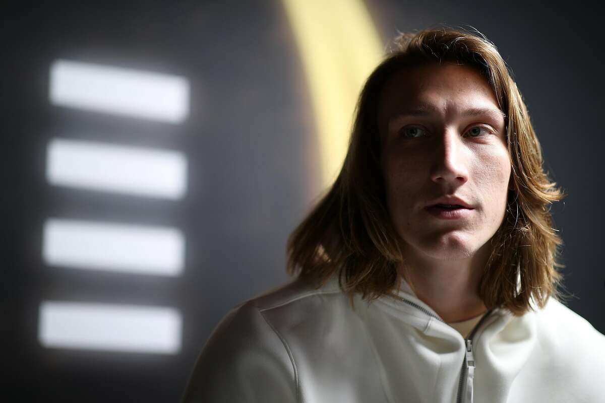 NEW ORLEANS, LOUISIANA - JANUARY 11: Trevor Lawrence #16 of the Clemson Tigers attends media day for the College Football Playoff National Championship on January 11, 2020 in New Orleans, Louisiana. (Photo by Chris Graythen/Getty Images)