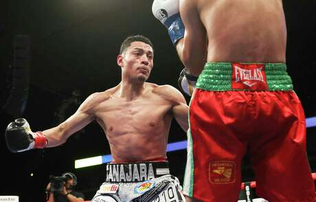 """Hector Tanajara, Jr., left. said he was proud of world champion Joshua Franco, who he boxed with at the amateur level, and wants to become """"the next world champion from San Antonio."""""""