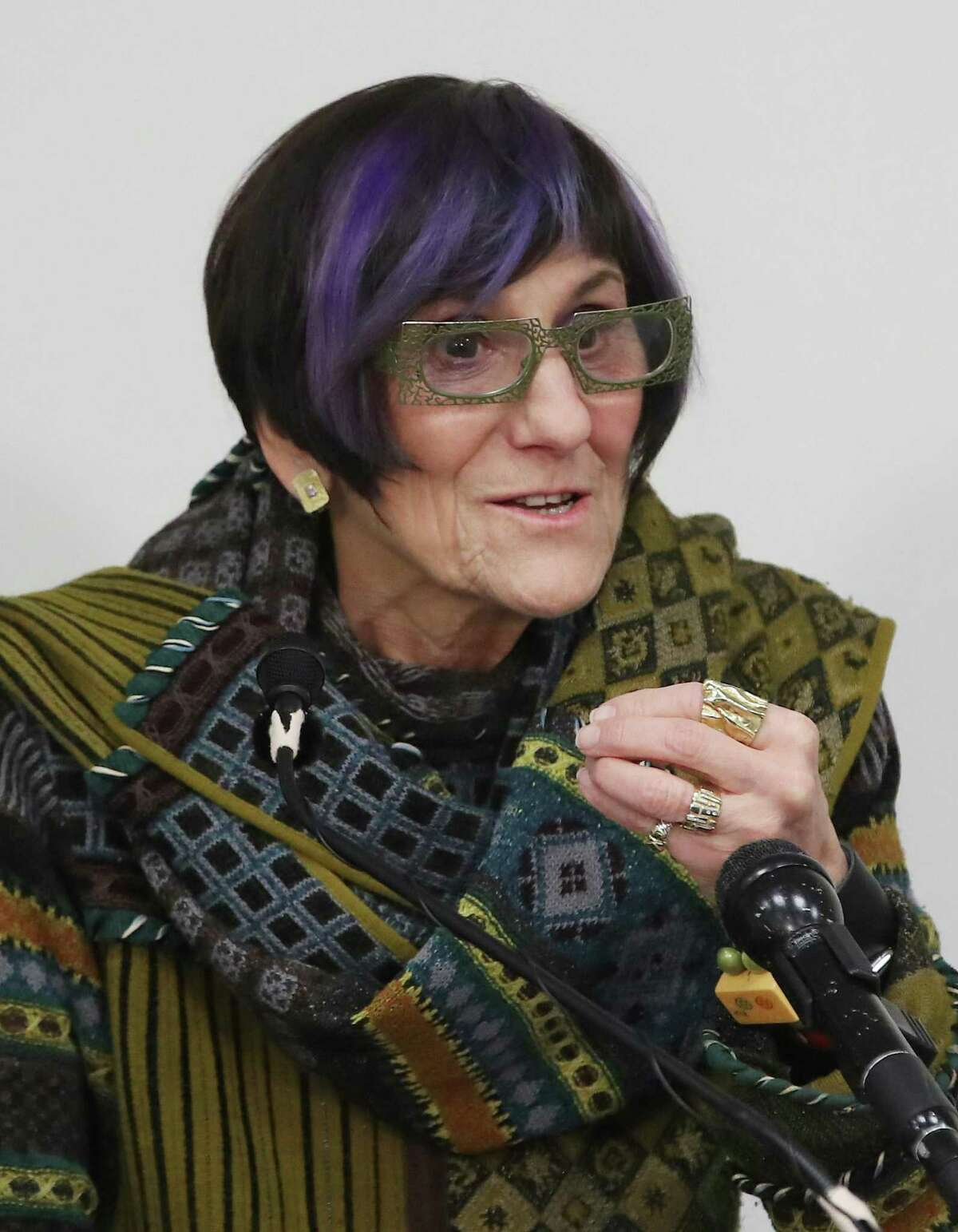 """WASHINGTON, DC - JANUARY 10: Rep. Rosa DeLauro, (D-CT), speaks during a news conference to reintroduce the """"Recall Unsafe Drugs Act,"""" at the U.S. Capitol on January 10, 2020 in Washington, DC. A new study published in the Journal of the American Medical Association by researchers at Valisure, the Memorial Sloan Kettering Cancer Center and Stanford University has found an association between ranitidine use and several forms of cancer. (Photo by Mark Wilson/Getty Images)"""
