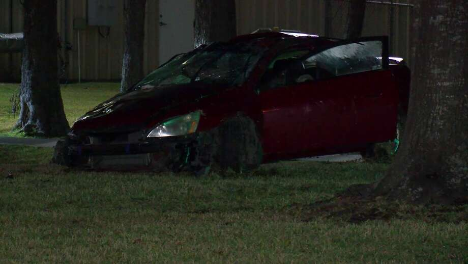 A driver who died early Sunday morning in a car crash on Aldine Bender in north Houston may have been under the influence of alcohol, officials said. Photo: On Scene
