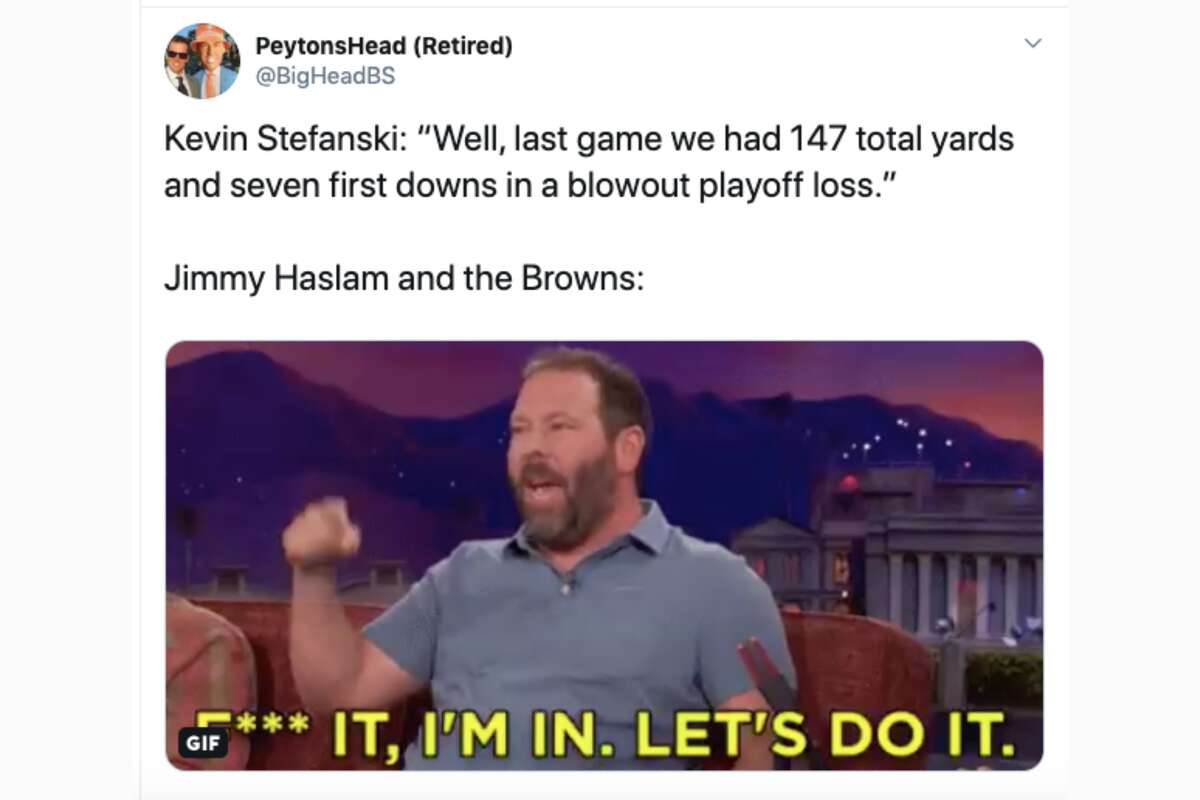The NFL world reacts to the Cleveland Browns hiring Kevin Stefanski as their next head coach.