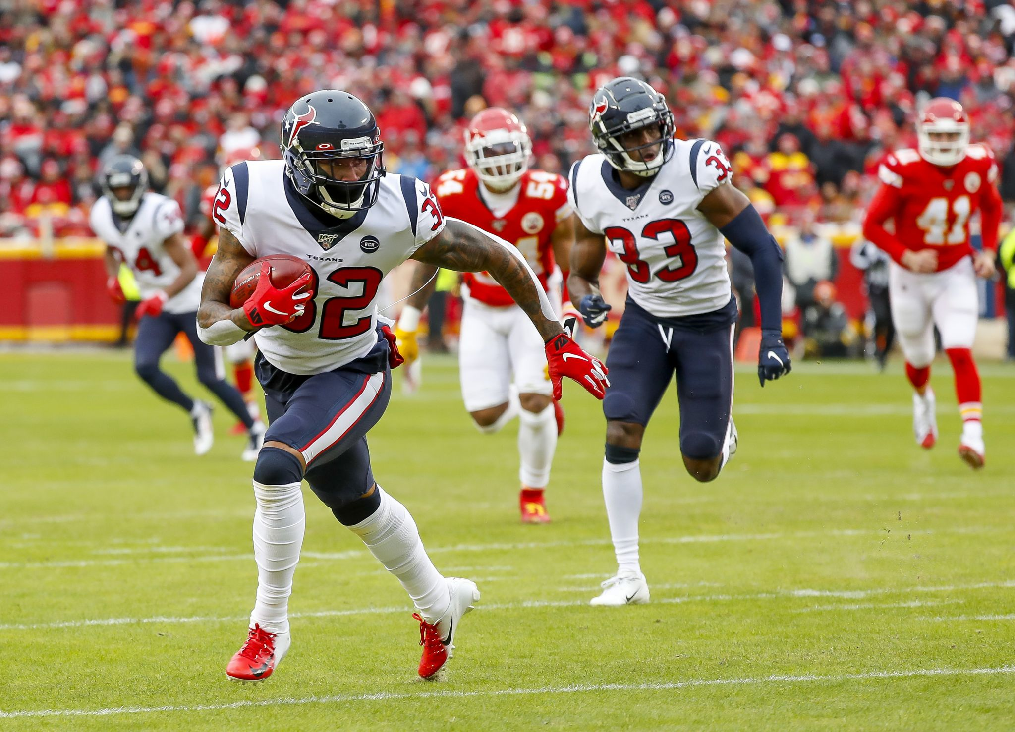 Reeling from Chiefs game, Texans' secondary still in flux