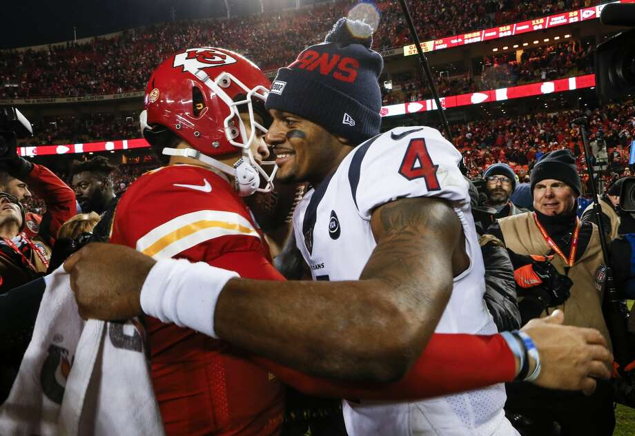 Week 1: at Kansas City Chiefs, 7:20 p.m. Thursday, Sept. 10 (NBC)Loss (0-1)The Texans already are 10.5-point underdogs and there isn't a tougher season-opener than facing the defending champs at Arrowhead Stadium on a Thursday night. Photo: Brett Coomer/Staff Photographer