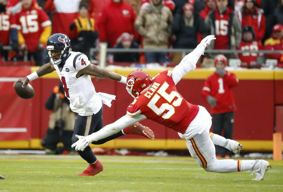The Texans and Chiefs will play for the third time in less than a year Thursday in Kansas City. Photo: Karen Warren/Staff Photographer