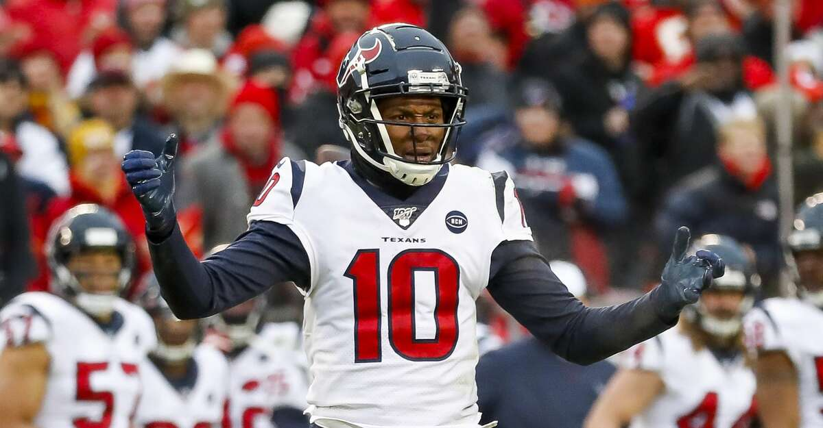 The Texans have agreed to trade DeAndre Hopkins and a fourth-round pick to the Arizona Cardinals for running back David Johnson and a second-round pick.