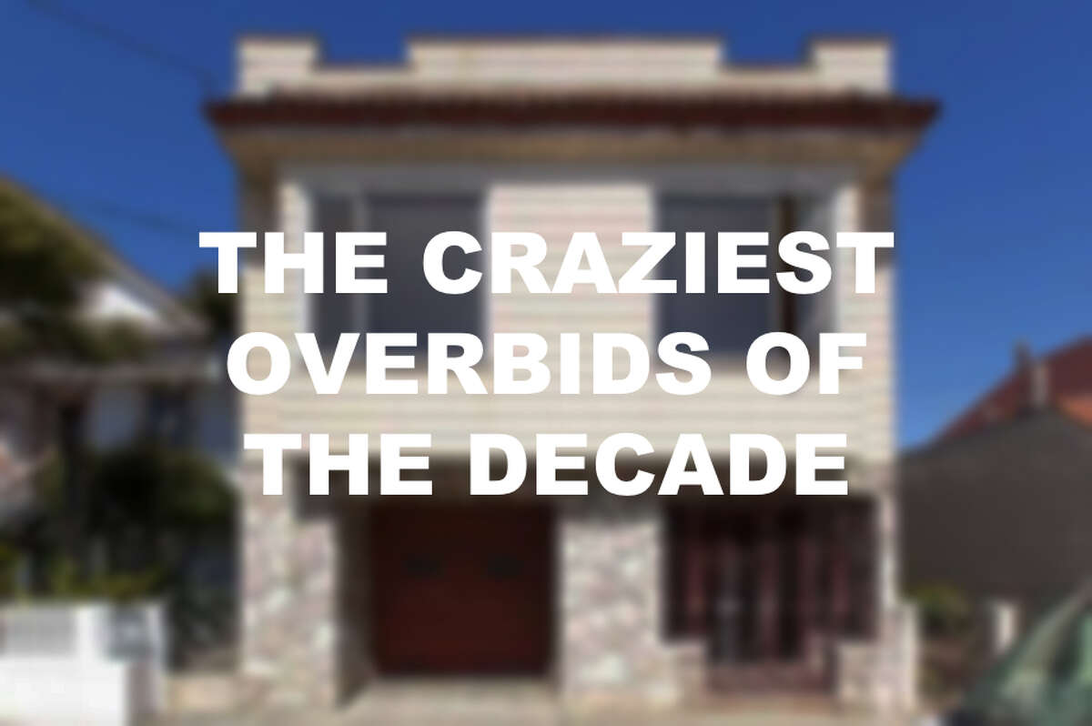 Click through the slideshow to see the highest overbids of the decade.