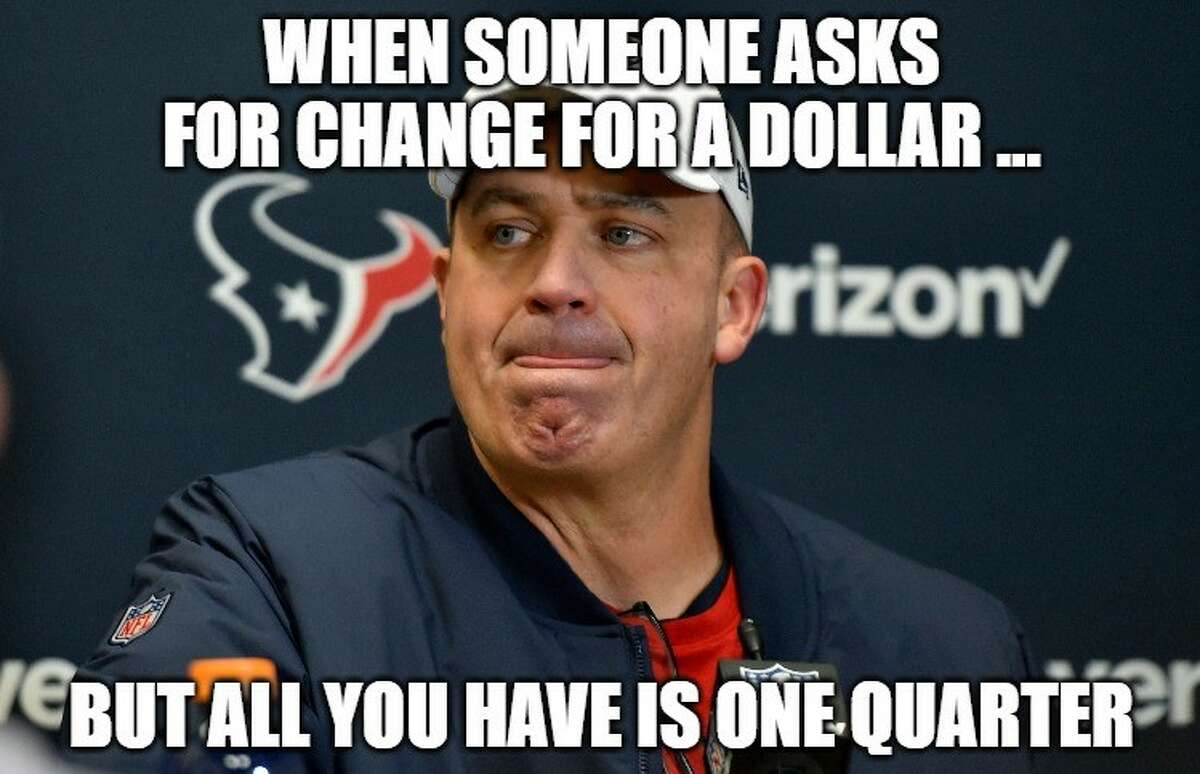 PHOTOS: The best memes from the Texans' loss and the rest of the NFL playoffs Meme: Matt Young Browse through the photos above for a look at the best memes from the Texans' collapse as well as the other second-round playoff games ...