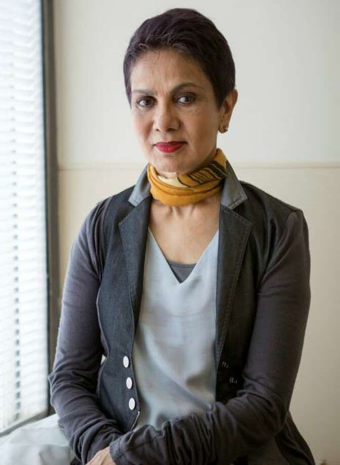 Dr. Azra Raza, a world-class oncologist, professor and author was the first speaker of the New Canaan Library's first Trustees' Lecture event on Sunday, January 26, 2020. Photo: Contributed Photo