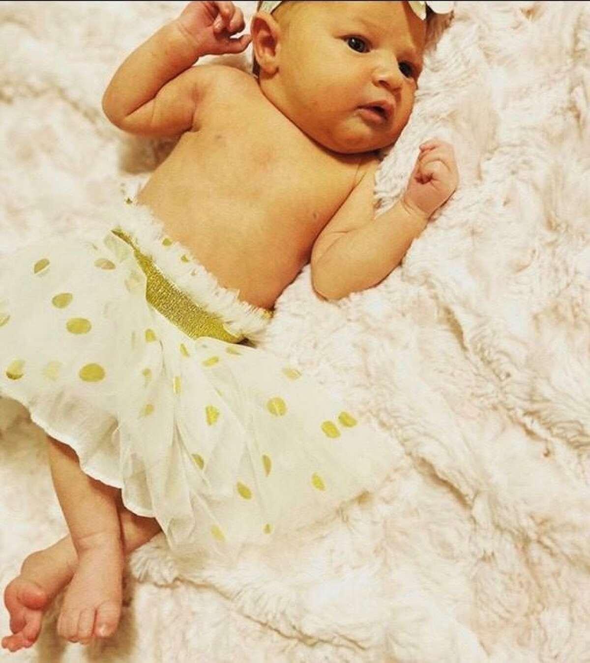 Heidi Broussard's infant daughter Margot Carey.