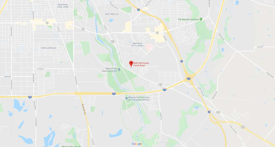 George Anthony Vasquez, 19, died Saturday night after a single-vehicle accident. The map shows the approximate location of the accident. Photo: Google Maps
