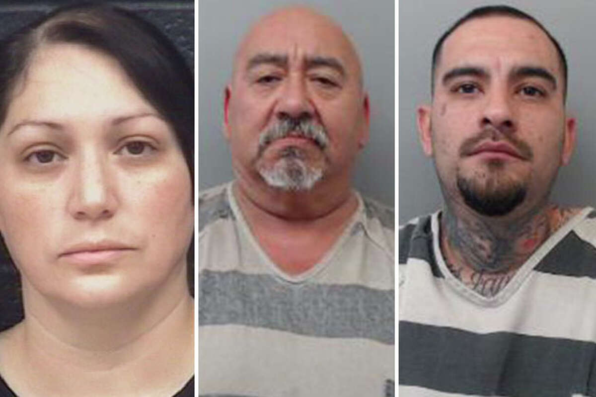 Three suspected drug dealers were arrested this week after authorities raided two homes where they discovered drugs, cash and weapons, according to Laredo police.