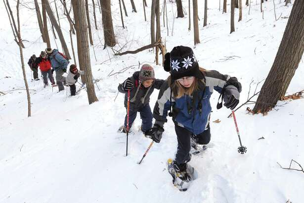 A Snowshoe Walk will be held on Jan. 25 at 1 p.m. at the CT Audubon's Center at Fairfield, 2325 Burr Street, Fairfield. The walk is for ages 10 and up. Tickets are $10-$13. Registration online at ctaudubon.org/2019/12/snowshoe-walk.