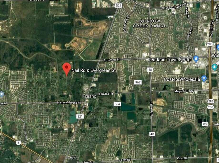 An investigation is underway after a body was found in a parked abandoned vehicle in the Fresno area of Fort Bend County Sunday. Photo: Google Maps