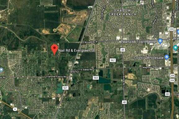 An investigation is underway after a body was found in a parked abandoned vehicle in the Fresno area of Fort Bend County Sunday.