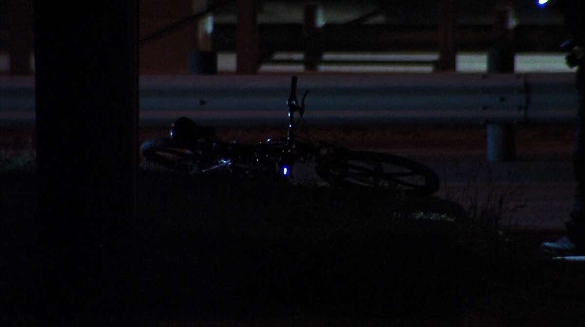 A San Antonio police have arrested a man who allegedly shot a man after attempting to steal his bike.