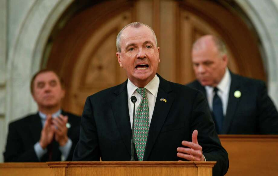 New Jersey Gov. Phil Murphy, during his fiscal year 2020 budget address in the New Jersey State Assembly chamber in Trenton, N.J., on March 5, 2019. Photo: Bloomberg Photo By Ron Antonelli. / © 2019 Bloomberg Finance LP