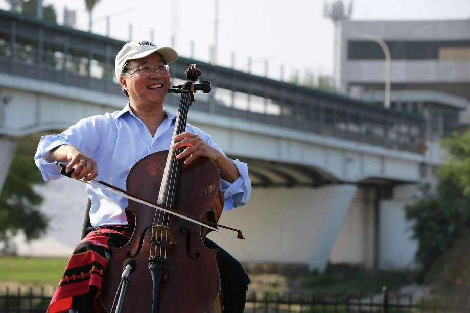 Arts San Antonio, which shuttered at the end of 2019, presented cellist Yo-Yo Ma in April. He performed at Trinity University then went to Laredo, where he played on the banks of the Rio Grande. Photo: Kin Man Hui /Staff Photographer / ©2019 San Antonio Express-News