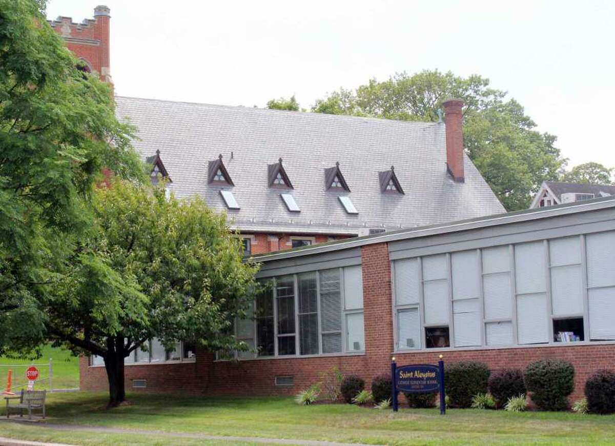 Pictured is St. Aloysius School, which is located at 33 South Ave., in New Canaan.
