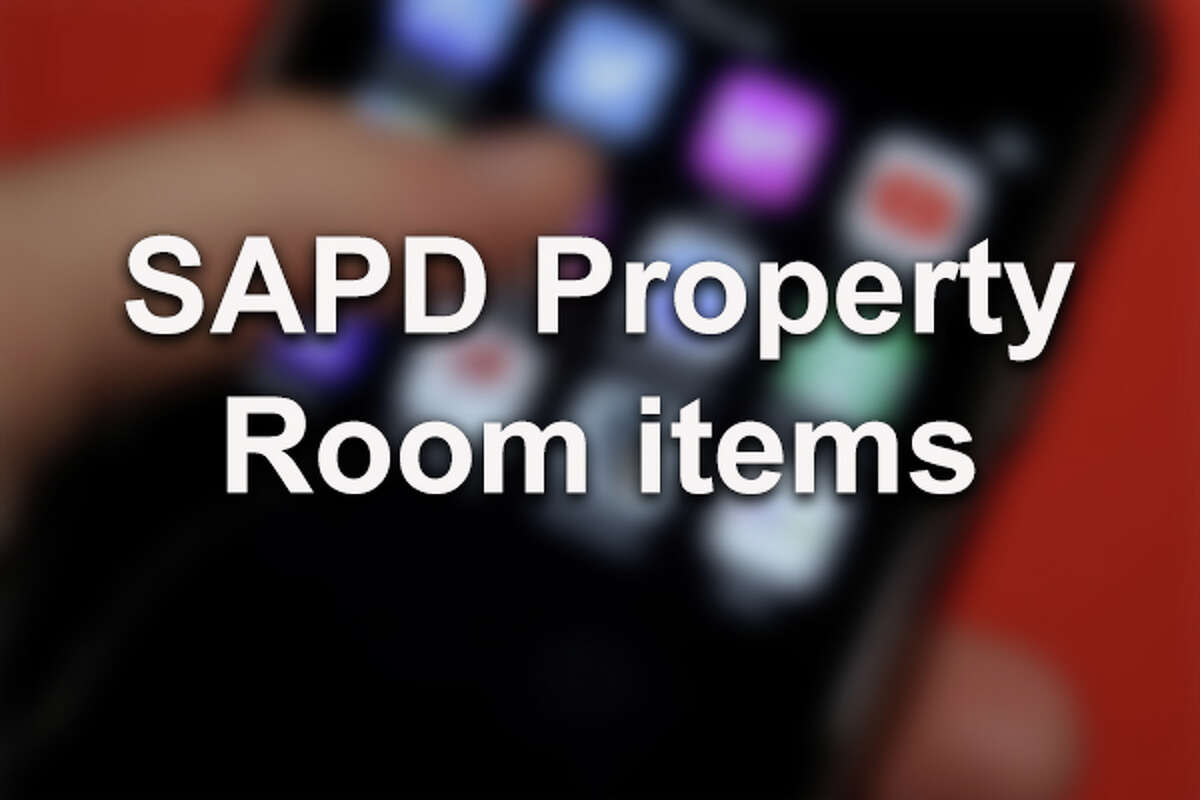 The San Antonio Police Department Property Room holds an estimated two million items, some are lost goods that have been turned in waiting to be retrieved while the rest are evidence in local cases. Here are some of the items stored in the 100,000-square-foot warehouse. All images are file photos and not the actual items.