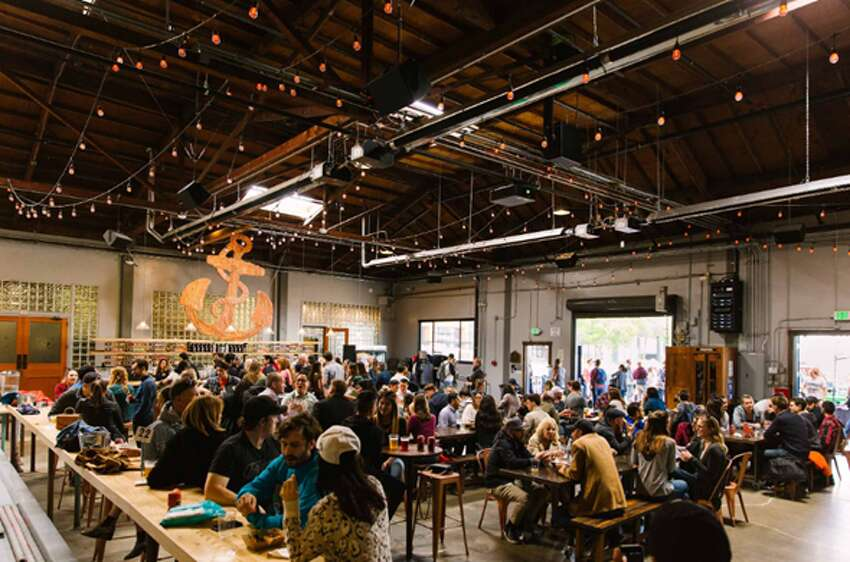 Best Indoor Beer Gardens in the Bay Area Anchor Public Taps495 De Haro St., San Franciscohttps://www.anchorbrewing.com/publictaps When San Francisco's brewing icon Anchor Brewing finally opened a modern public taproom in 2017, it went all out on the beer garden concept. The space, across the street from its Potrero Hill brewhouse, features communal tables and community-oriented events, like