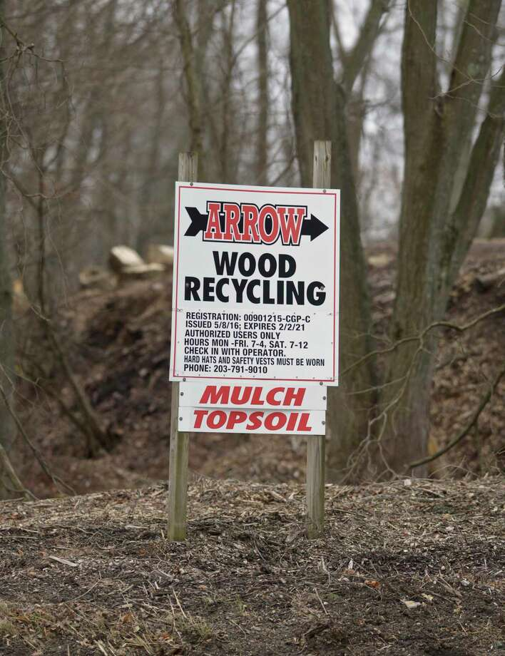 All Regional Recyclers Of Wood (ARROW) plans to construct a 8,000-square foot building. Monday, January 13, 2020, in Bethel, Conn. Photo: H John Voorhees III / Hearst Connecticut Media / The News-Times