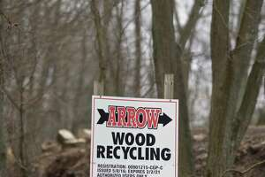 All Regional Recyclers Of Wood (ARROW) plans to construct a 8,000-square foot building. Monday, January 13, 2020, in Bethel, Conn.