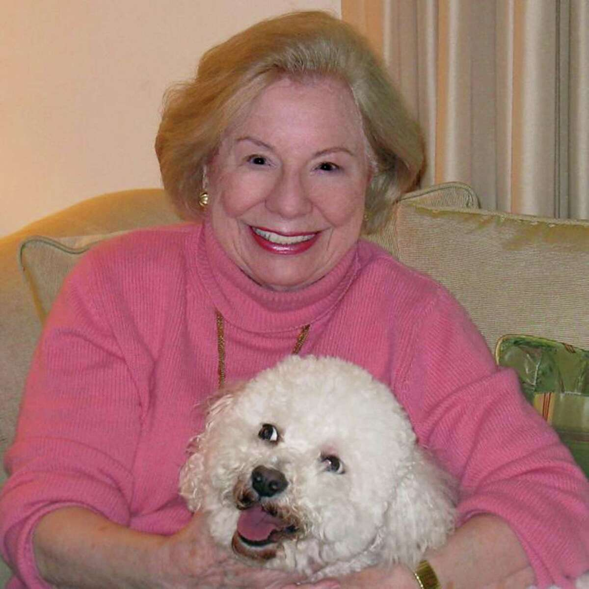 Greenwich author and newspaper columnist Carla Wallach