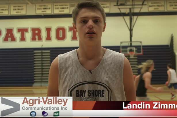 USA boys basketball player Landin Zimmer is the Agri-Valley Communications Athlete of the Week.
