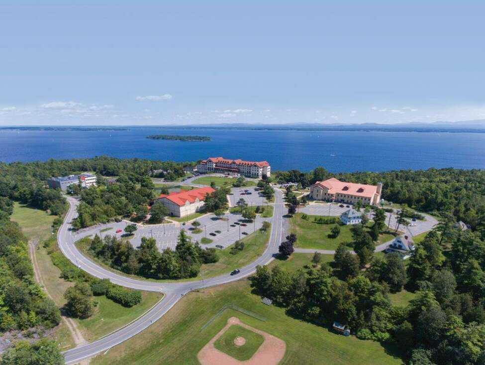 A view of Clinton Community College in Plattsburgh. The college experienced one of the largest declines in community college enrollment in the state between 2010 and 2018.
