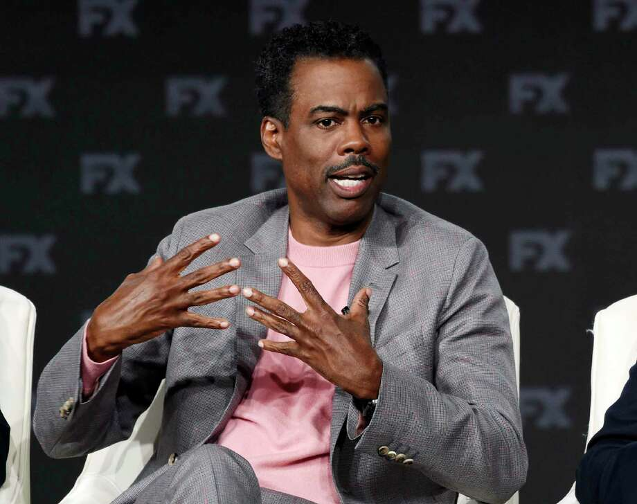 """Chris Rock, a cast member in the FX series """"Fargo,"""" discusses the show at the 2020 FX Networks Television Critics Association Winter Press Tour, Thursday, Jan. 9, 2020, in Pasadena, Calif. (AP Photo/Chris Pizzello) Photo: Chris Pizzello / 2020 Invision"""