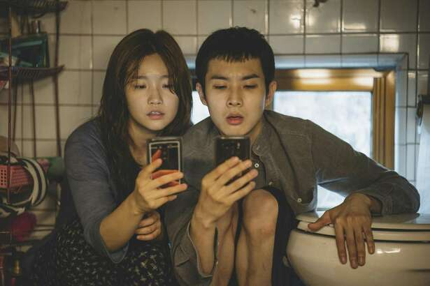"""So-dam Park (left) and Woo-sik Choi star in the Academy Award-nominated """"Parasite."""""""