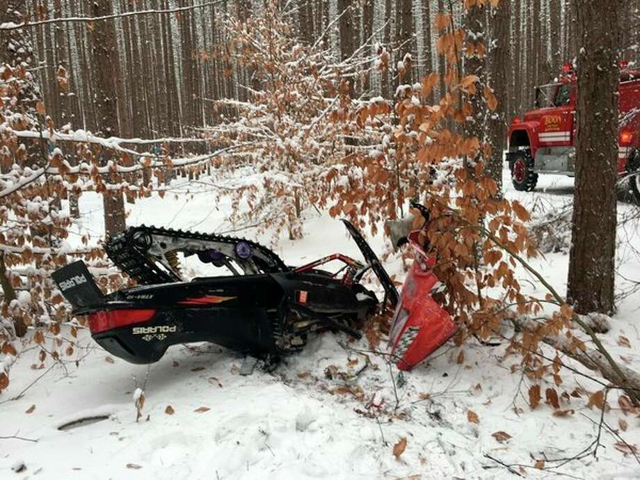 Matthew Gardner of Grand Rapids died after a snowmobile crash in Boon Township Sunday. State police said Gardner was wearing a helmet at the time of the crash and alcohol and drugs were not factors in the crash. (Photo provided by MSP)