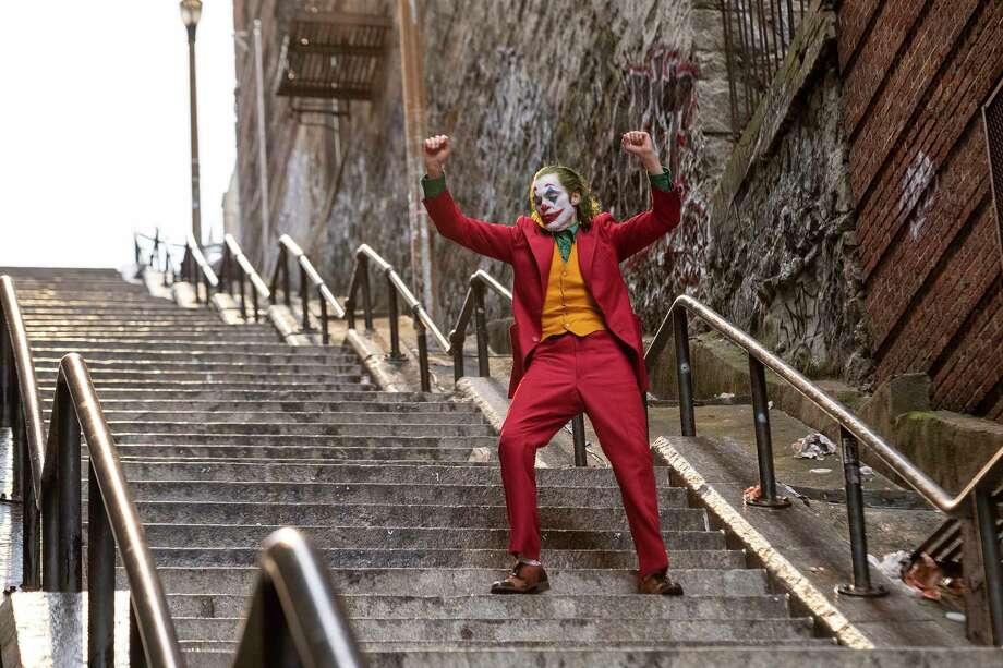 "Joaquin Phoenix as Arthur Fleck in ""Joker."" Photo: Handout Photo By Niko Tavernise/Warner Bros. / Handout"