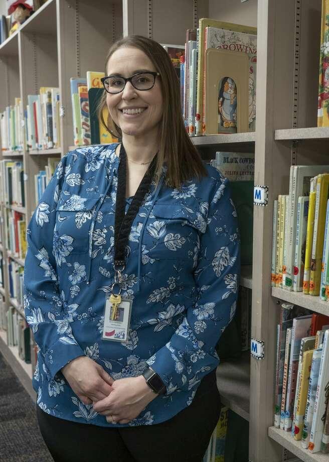 Sara Thomas, MISD librarian. 01/13/2020 Tim Fischer/Reporter-Telegram Photo: Tim Fischer/Midland Reporter-Telegram