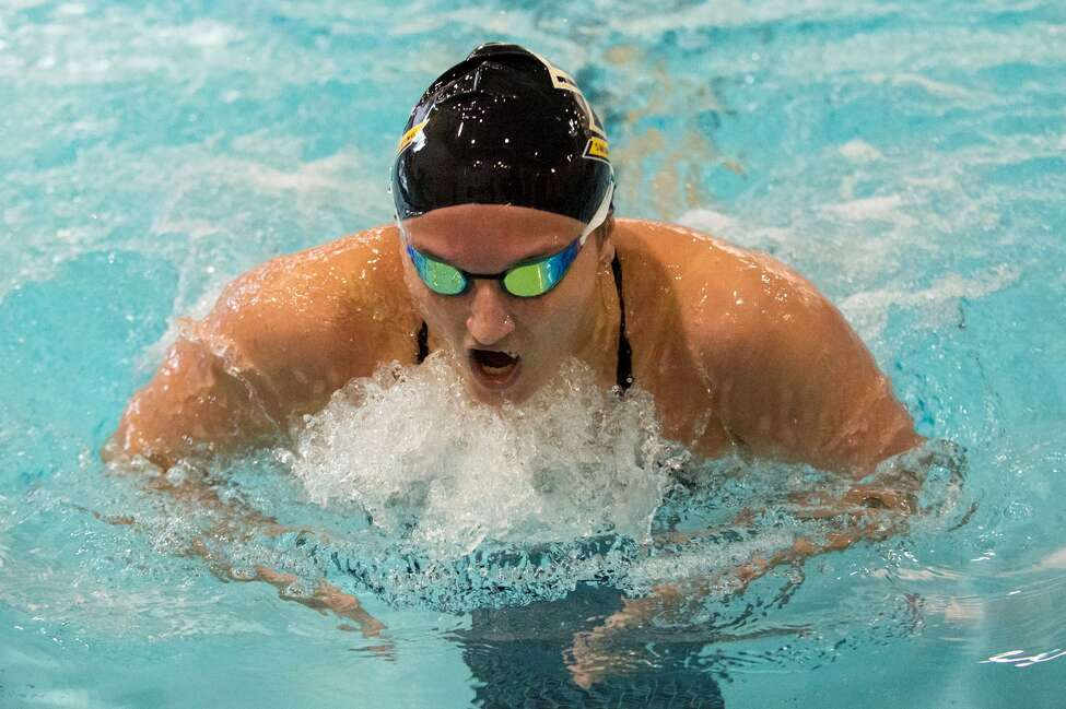 Albany Academy for Girls graduate Colleen Quaglia of the College of Saint Rose women's swim team. (Courtesy of St. Rose Athletics)