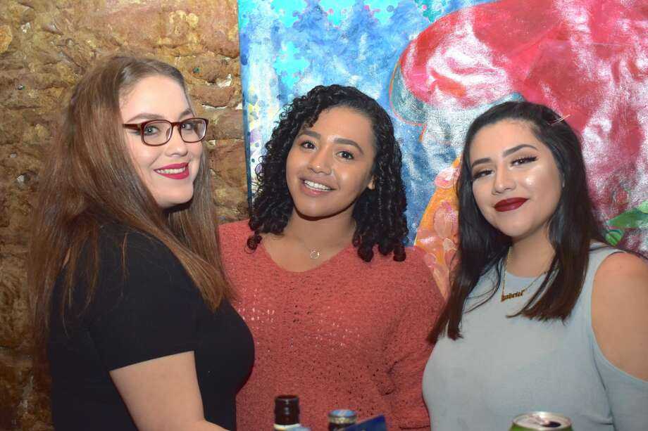Poets and spectators came out to Gallery 201 as Laredo BorderSlam Poetry hosted the first poetry slam of 2020. Photo: Diana Garro/Laredo Morning Times