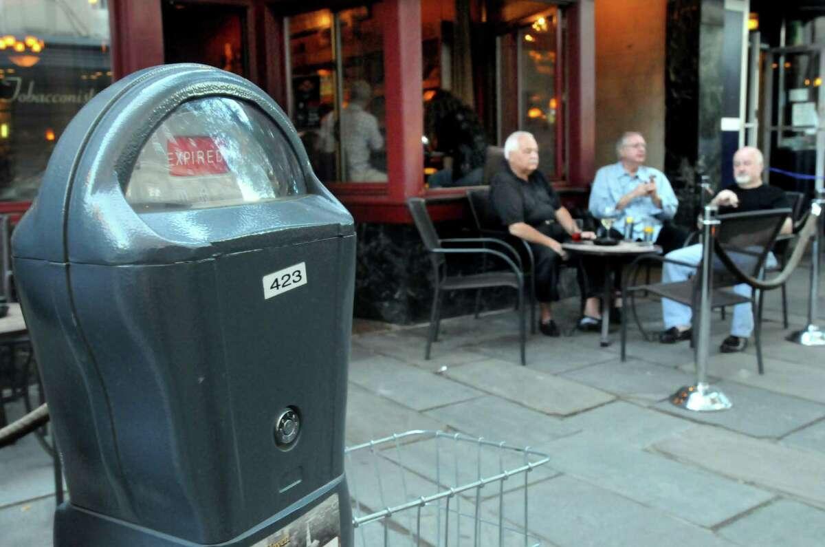 Parking meter in New Haven