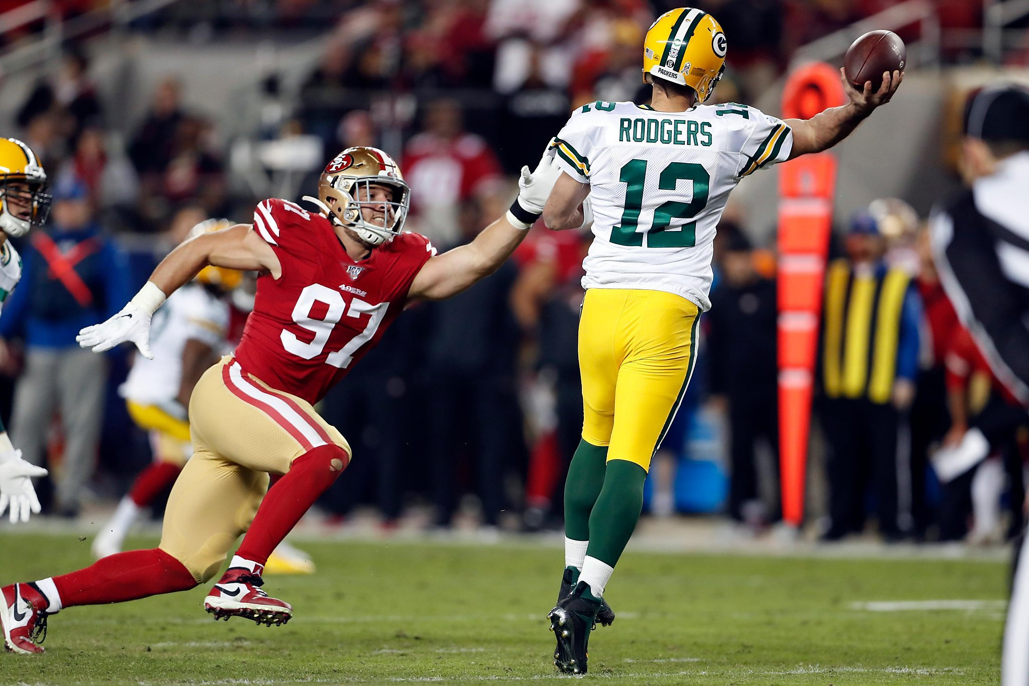It's Packers vs. 49ers in NFC Championship Game